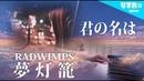 夢灯籠 / RADWIMPS (映画『君の名は。』劇中歌) なすお☆cover