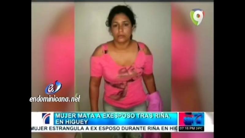 Woman has strangled man to dea1h Mujer mata a su ex pareja