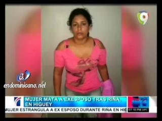 Woman has strangled man to dea1h - Mujer mata a su ex pareja