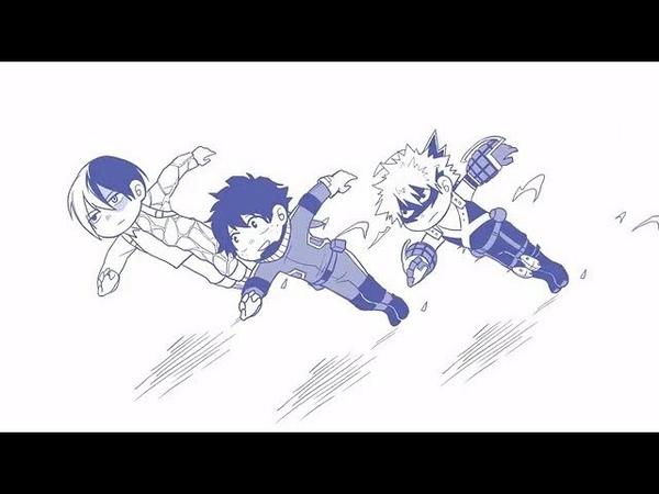 【MAD】My Hero Academia - Deku Version『Rolling Girl』