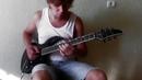 Marty Friedman Corason de Santiago Guitar Cover by Alexey Tsybulnikov