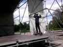 серёжка катается на сцене кинотеатр Россия
