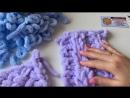 Обзор Alize Puffy и схема простого узора для пледа