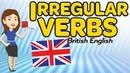 Irregular verbs in English - British English version