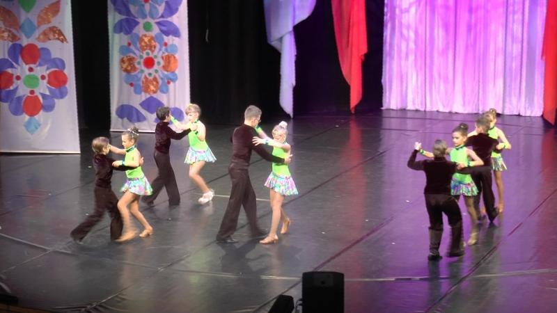 Открытие сезона 2018 2019 Студия бального танца Партита Самба
