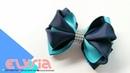 Laço Adelle Cute Kanzashi 🎀 Ribbon Bow 🎀 DIY by Elysia Handmade