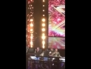 Robbie Williams singing History' by One Direction at The X Factor -