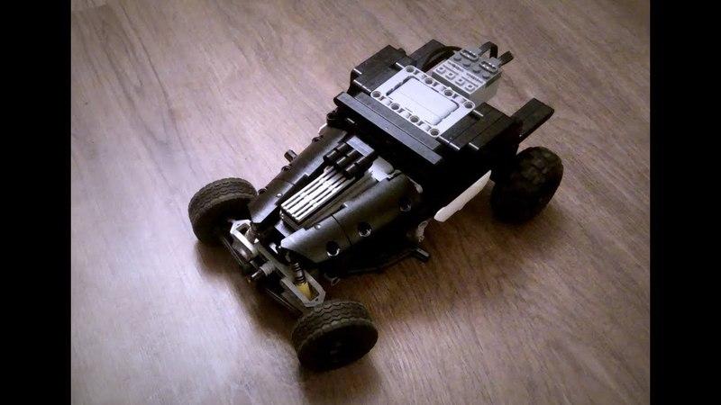 Lego technic Hot-Rod Black Risen