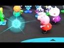 Peppa Pig en français. Peppa et Geroge s'envolent vers le Mars. Peppa Pig rencontre Luluks