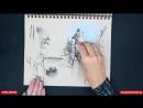 Рисуем с Еленой Таткиной