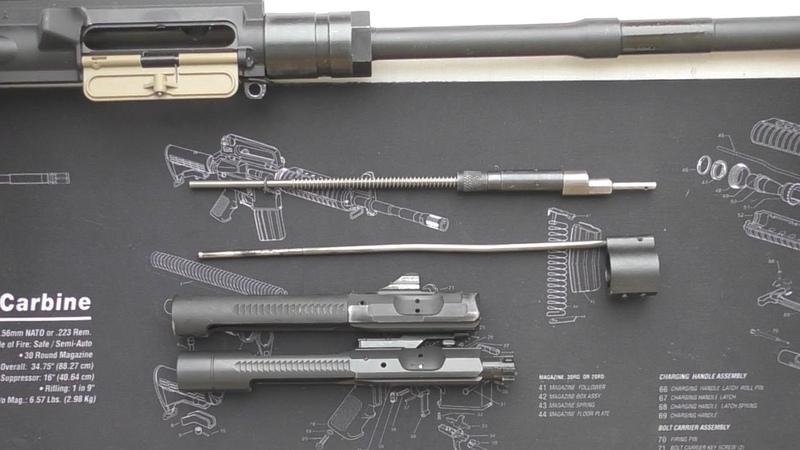 Газовая Пистонная Система для АР-15 * УСТАНОВКА | BUSHMASTER | Gas Piston Kit AR-15 * INSTALLATION