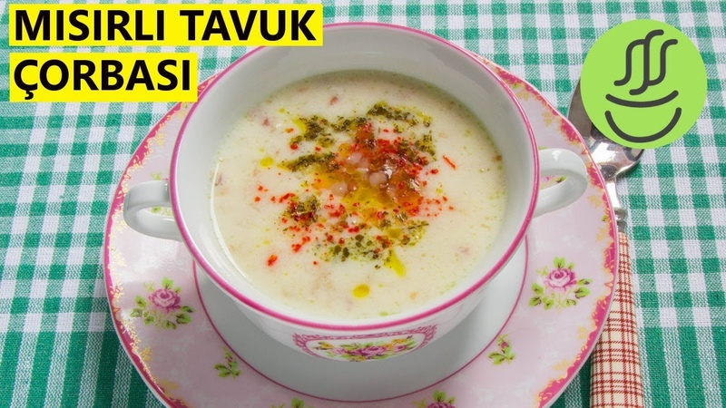 TAVUK ÇORBASI - Böylesini yemediniz - Buğday ve Mısırla zenginleştirilmiş müthiş lezzet..