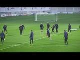 Тренировка Ювентуса перед матчем с Ман Юнайтед.