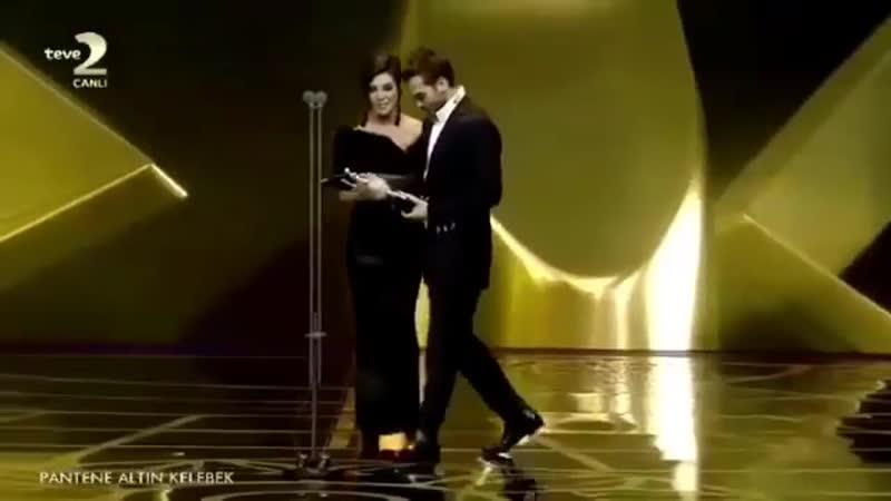 Арас на премии Золотая бабочка