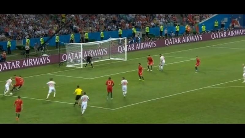 Гол Начо Фернандеса .Португалия-Испания 2:3 ЧМ 2018/Goal of Nacho Fernandes