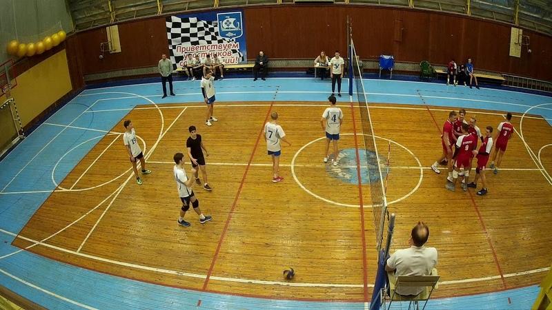 Приморск - Кингисепп. Первенство ЛО по волейболу 2002-3, Приморск 10.11.2018 2 партия