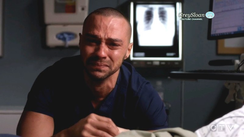 Grey's Anatomy 14x23 scenes Jackson Cries Begs God for April- She Wakes Up Season 14 Episode 23