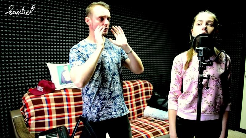 Контрольное занятие по вокалу в продюсерском центре BASILIO, Барнаул - Студентка Алина Севрюкова, What If (Cover Дина Гарипова)
