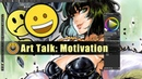 Art Motivation Gone? - How to come back! Art Talk 01 (Feat. Blizzard from One Punch Man)