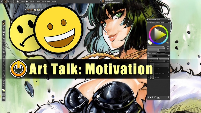 Art Motivation Gone How to come back Art Talk 01 Feat Blizzard from One Punch Man