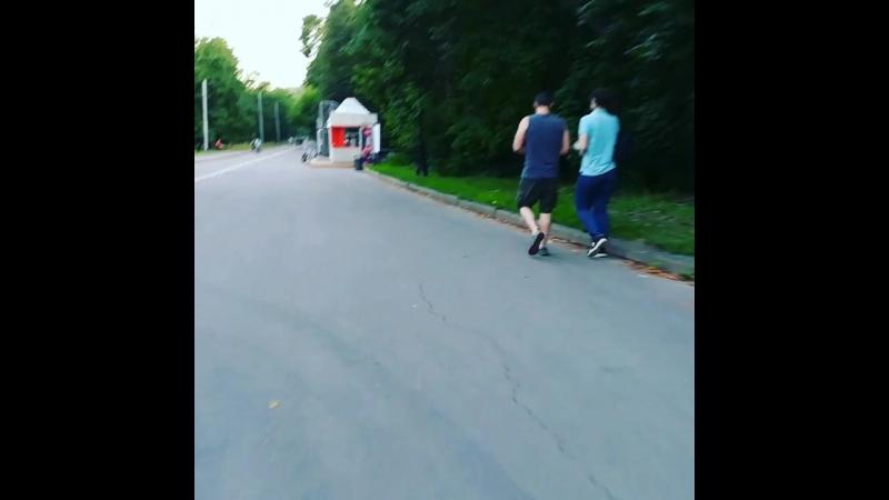 лонгборд на Воробьевых