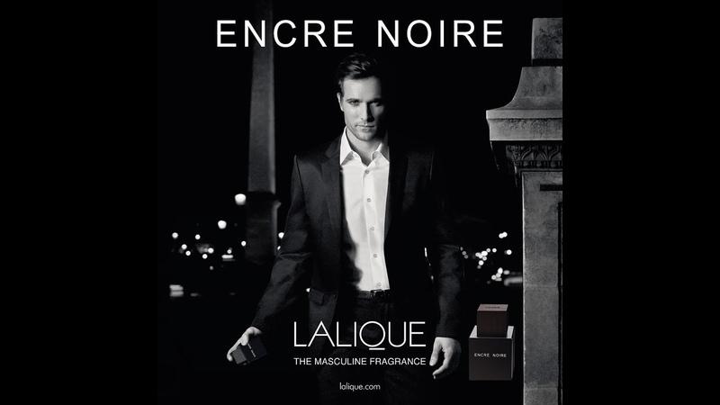 Обзор аромата Lalique - Encre Noir Gaultier - Monsieur, eau du matin