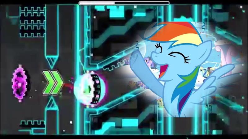 Forsaken Pony [PonyDub]   Geometry Dash