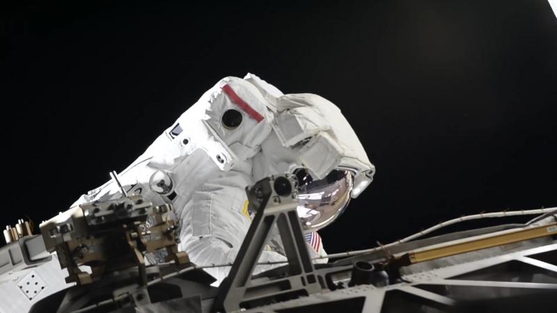50-й Выход в открытый космос американских коллег