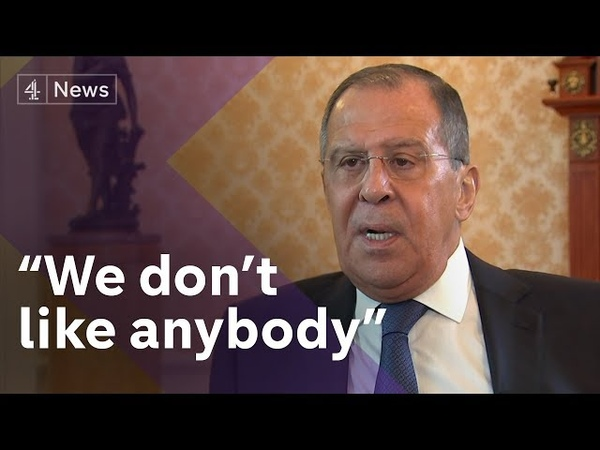 Exclusive Sergey Lavrov, Russias Foreign Minister, on Skripals, Trump kompromat claims and OPCW