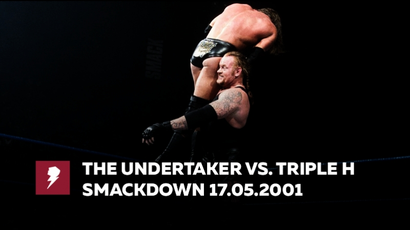 [My1] Смекдаун 17.05.2000 - Трипл Эйч против Гробовщика