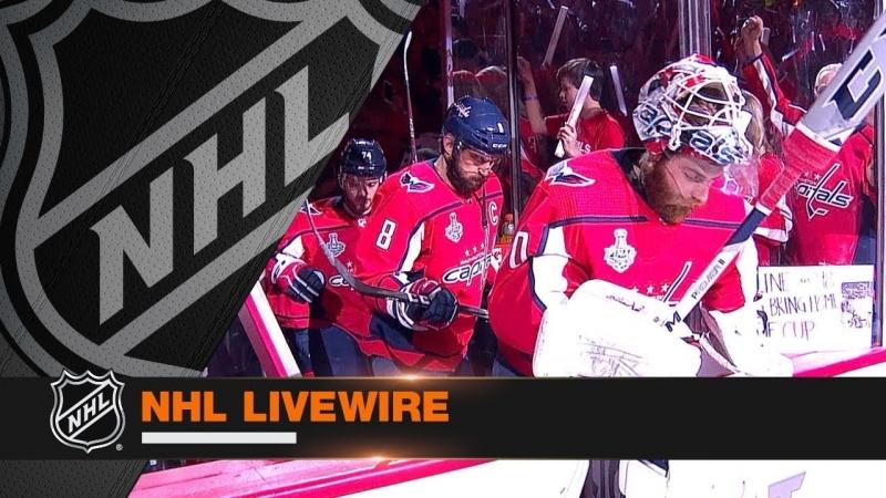 NHL LiveWire: VGK vs. WSH, Gm4