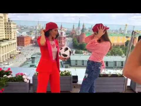 Interview with Natalia Oreiro - Cholito in Moscow - 4.6.2018