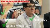 Di Luar Negri Jackie Chan Pakai Bahasa Indonesia Loh!!