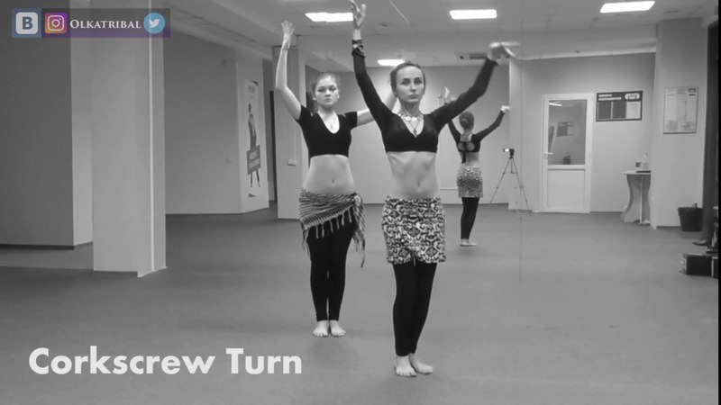 Just do it! Dance ATS® drills with Olga Helga Level 1 2 Slow Moves