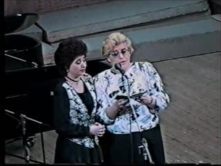 Ирина Балашова,Евгения Низикова,концертмейстер Наталия Хомутинникова
