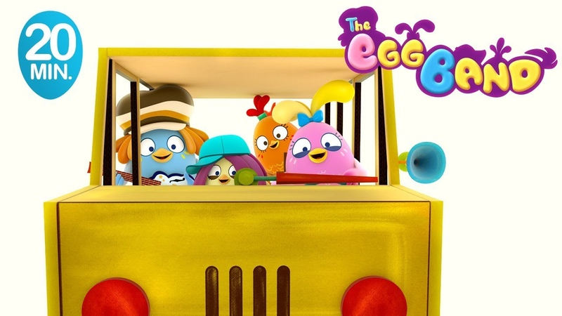 Wheels on the Bus | Nursery Rhymes and Songs for Kids Compilation from the Egg Band