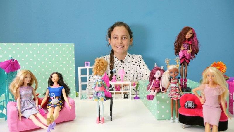Eğlenceli kız videosu. Tasarımcı Briar Beauty'yi kurtarıyoruz!