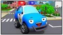 Мультик про Машинки Полицейская Машина в Городе ВСЕ СЕРИИ Новые Мультфильмы для детей