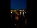 Ночной велотусыч на Петроградской набережной