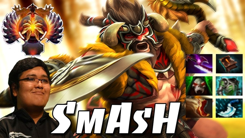 SmAsH- Beastmaster | Immortal Pro Gameplay - Dota 2
