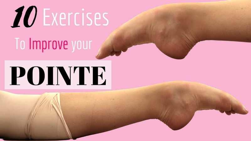 How To Improve Your Pointe    Exercises to improve your pointe!