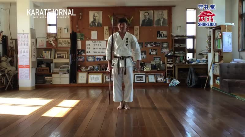 Ryukonkai school-Bo Demonstration 棒