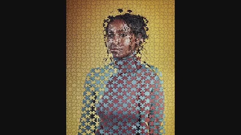 Alma Haser Puzzle portraits