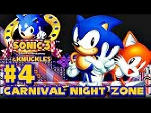 Sonic 3 Knuckles HD part 4 ► Carnival Night