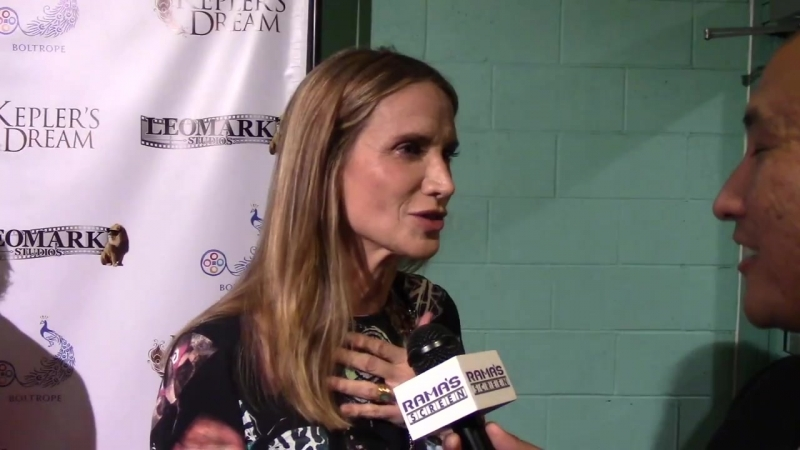 My KEPLERS DREAM Premiere Interview with Kelly Lynch