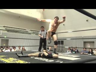 Antonio Honda, Makoto Oishi vs. Keisuke Ishii, Yoshihiko (DDT - Road to Ryogoku 2018 ~ Dramatic Dream Tor no Shiun)