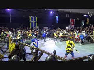Dynamo cup 2018 12vs12 6fight black bear  vs charlemagne