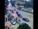 Cumhurbaşkanı Recep Tayyip Erdoğanın Koruma ordusu konvoyu