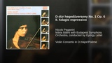 D-dúr hegedűverseny No. 1 Op. 6 II. Adagio espressivo