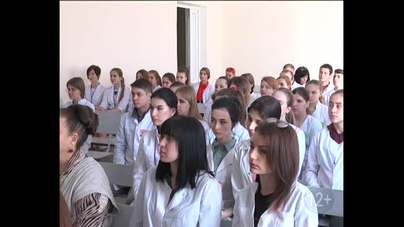 Волонтёры медики Шахтинского медицинского колледжа им Г В Кузнецовой